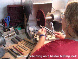 Manual Deburring Process