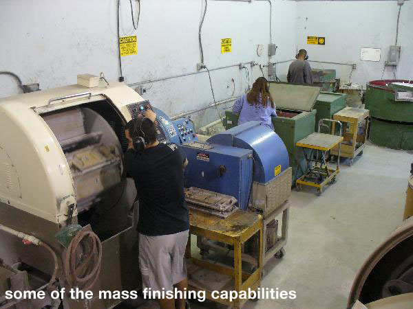 Mass Finishing Process